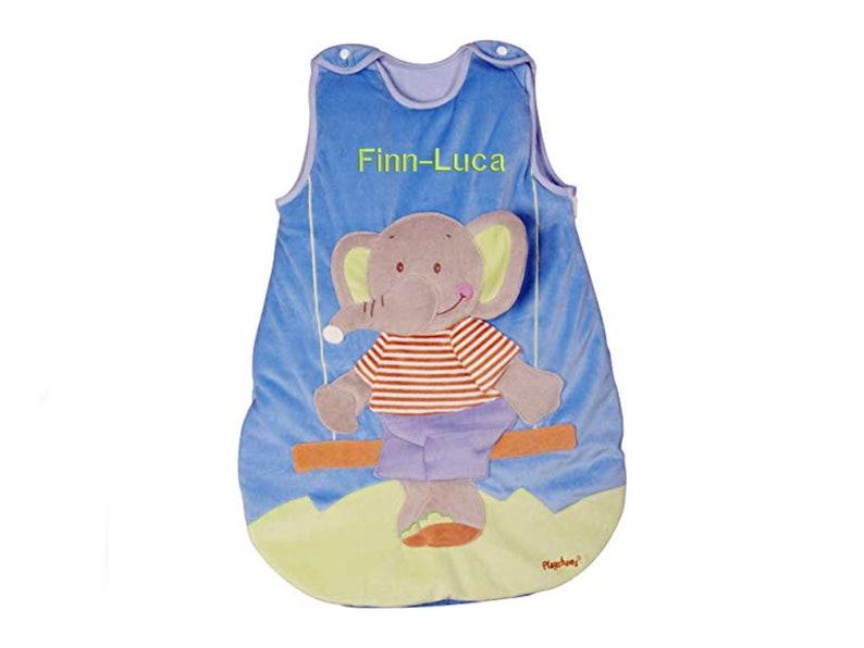 Last item baby sleeping bag elephant 90 cm romper bag image 0