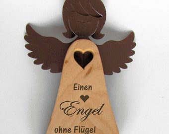 Stand Engel wood and metal