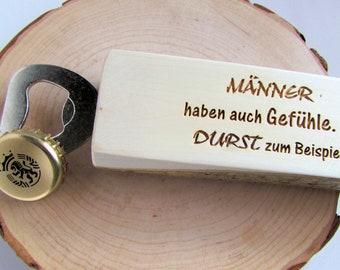 Bottle Opener Beer Opener Capsule Lifter Wood MenTool