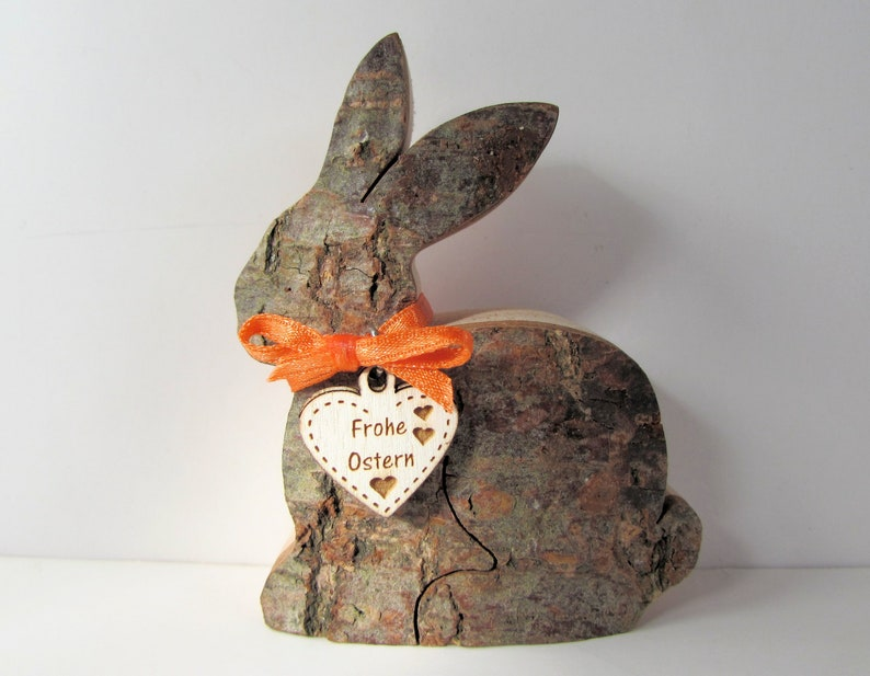 Easter Bunny Bunny Dindenholz Wood Easter Decoration image 0