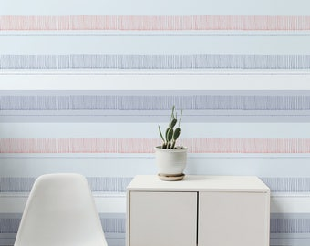 FRINGY SKY Removable wallpaper, wall decor, wall mural, wall sticker