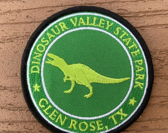 Dinosaur Valley State Park Lime Green Patch