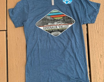 Dinosaur Valley State Park colorful river shirt