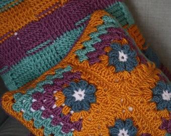 Set of Crocheted Cushions