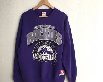 Vintage Colorado Rockies Sweatshirt • Size M