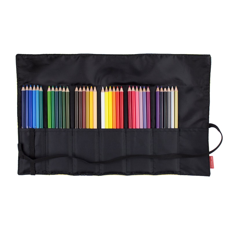 Roll Up Case 36pc Set 1500 Series Colored Pencils