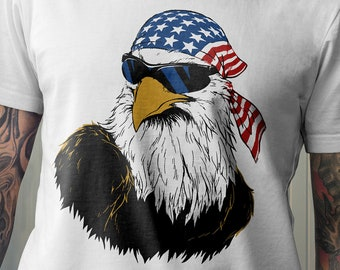 Patriotic Eagle Shirt.American Eagle.4th of July.Independence Day.American Flag.USA.2018 T-Shirt