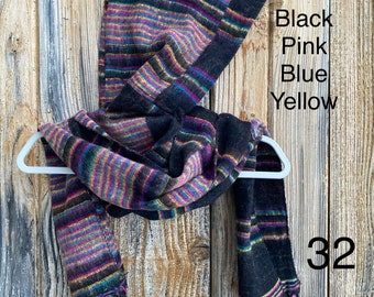 Striped Hooded Scarves - More Colors!