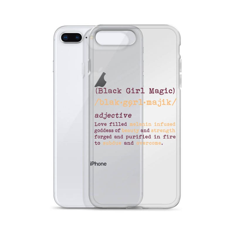 new styles ab33e b3c2e Black Girl Magic iPhone Case - iPhone 5 5s SE, iPhone 6 Plus 6s Plus,  iPhone 7 Plus 8 Plus, iPhone 7 8, iPhone X, Melanin on Fleek, Melanin