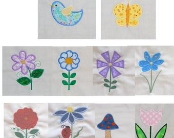 May Flowers Appliques BD 484
