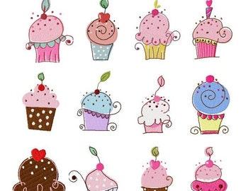 Cupcakes by the Dozen BD 337