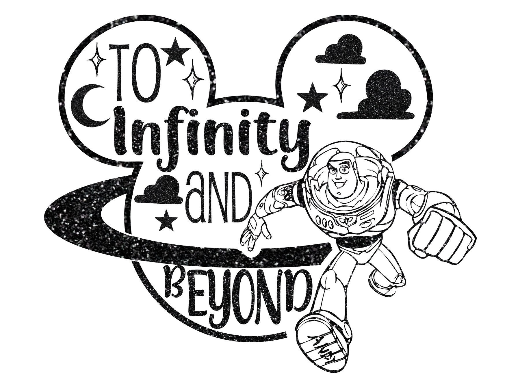 Toy Story 4 Svg To Infinity and Beyond PNG SVG Silhouette ...