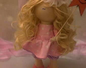 "Handmade Doll- Doll based on the cartoon ""the Bremen town musicians"" Princess Trubadurzy"