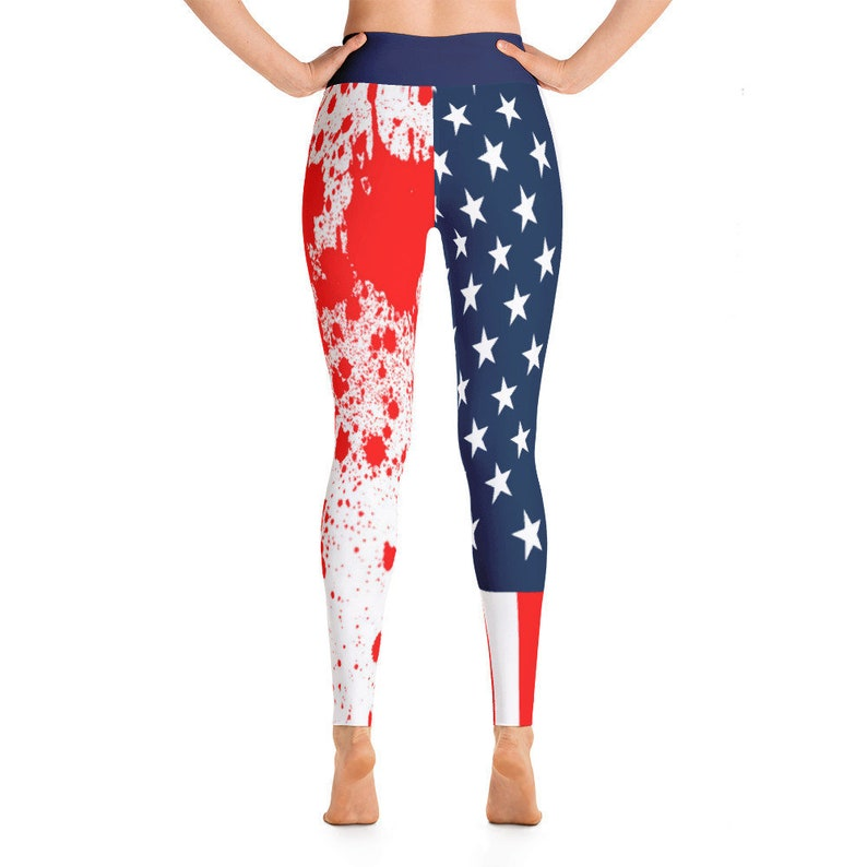 Challenge Confront and Change the World Yoga Leggings