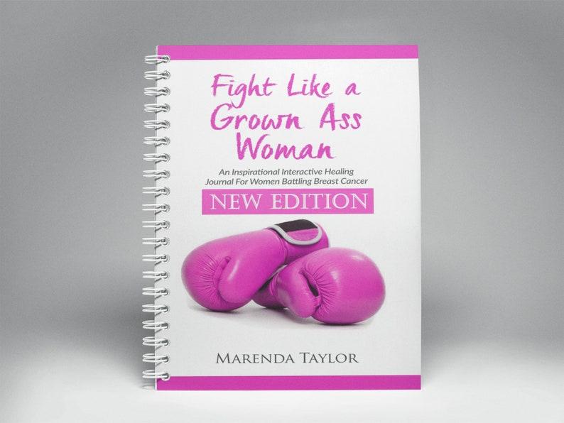 Fight Like a Grown Ass Woman Inspirational Interactive Journal image 1