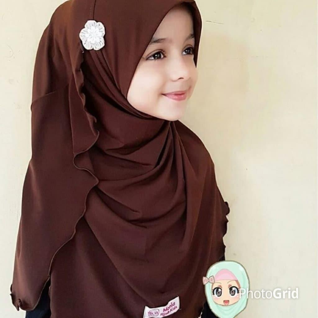 Jersey Girls Instant Hijab Girl Hijab Kid Hijab Ready To