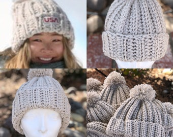 fc6972a57df Chloe Kim Hat- inspired