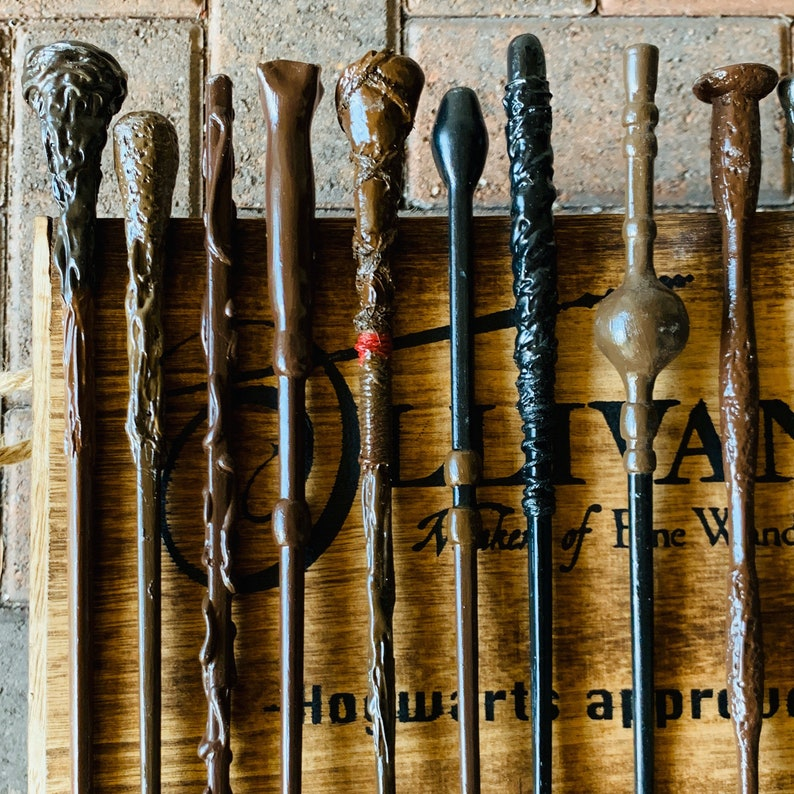 Magic Wand Wood Wand Harry Potter Inspired Wands 5 Harry Potter Character Inspired Wand Party Favor Wizard Wand Wizardry Custom Wand