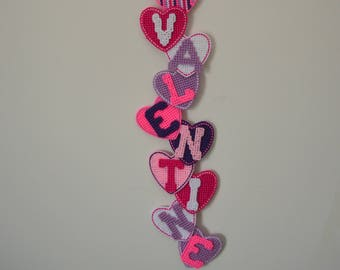 Cute Be My Valentine Wall Hanging Decor