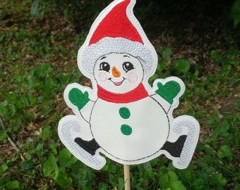 Etsy & Snowman flower pot | Etsy