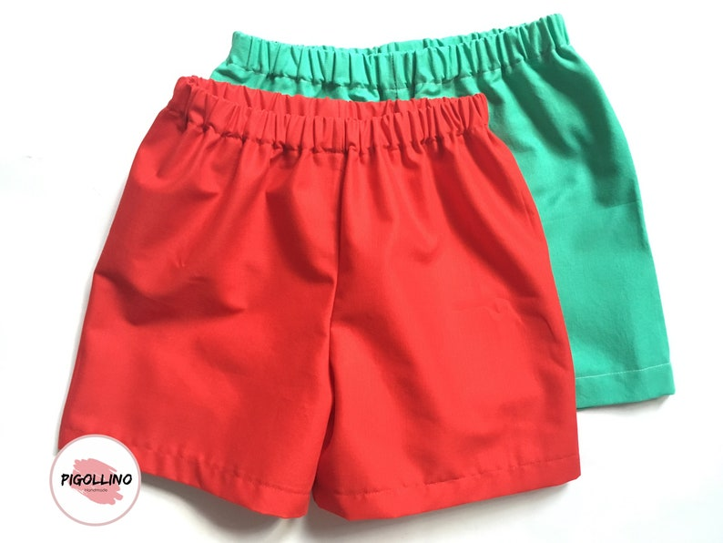 e1d9ab810c Baby boy/girl solid color shorts - Back to school shorts - Solid color  shorts - Cotton shorts - Shorts for toddlers - Summer - Unisex