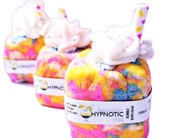 Hawaiian Hypnotic Chill | Bubble Bath Bar| Natural Bubble Bath | Solid Bubble Bath|kids bubble bath|summer Bubble bath