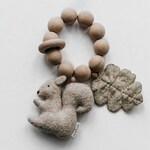 Squirrel teether - Juniper teether - Woodland baby shower gift - Teether