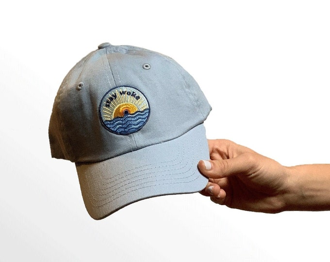 Small-Fit Hat for Women with Small Heads - Stay Woke Patch