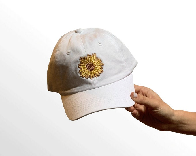 Hat for Small Heads - Women's Petite-fit (Sunflower Patch)