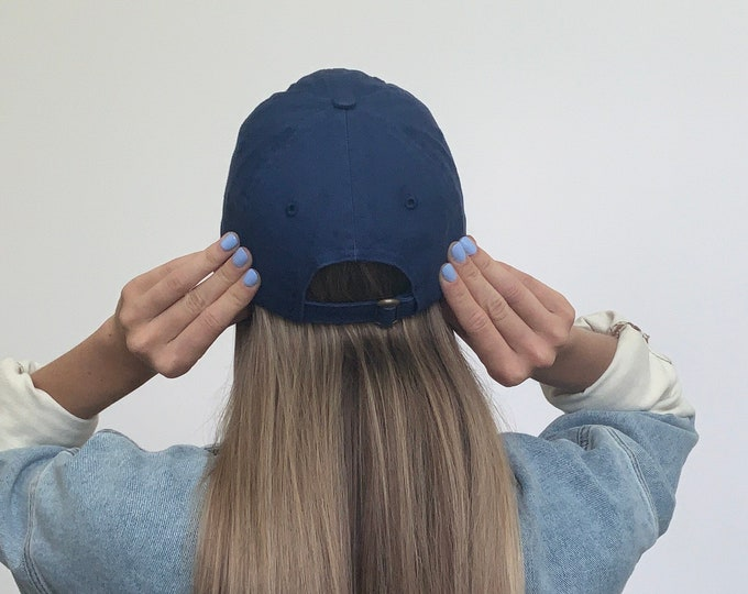 Hat for Small Heads - Women's Petite-fit (Royal Blue)