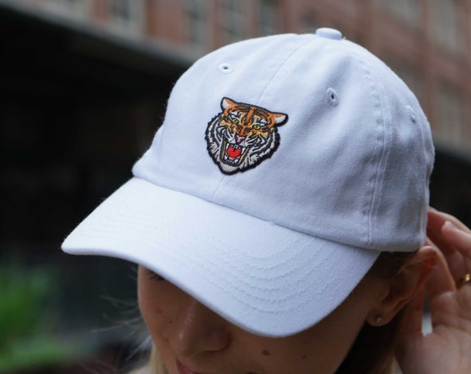 Hat for Small Heads - Women's Petite-fit (Tiger Patch)