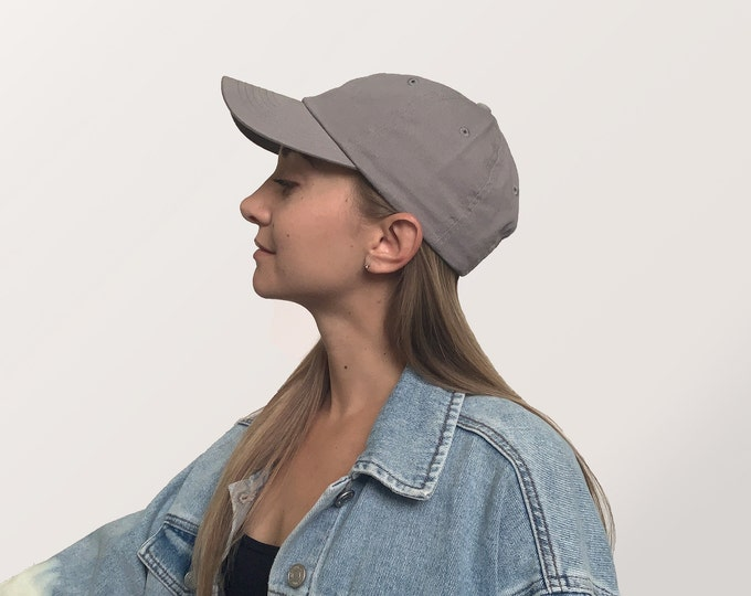 Hat for Small Heads - Women's Petite-fit (Gray)