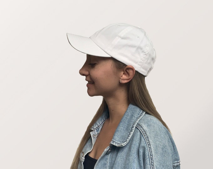 Hat for Small Heads - Women's Petite-fit (White)