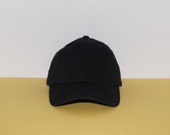 Hat for Small Heads - Women s Small-fit Black Hat 04940738f51