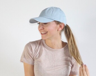 2f0fdc7ead25b Women s Small-fit Light Blue Hat for Small Heads