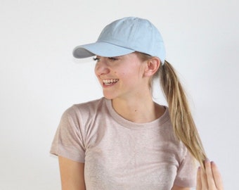 52d4f1a34212f Women s Small-fit Light Blue Hat for Small Heads