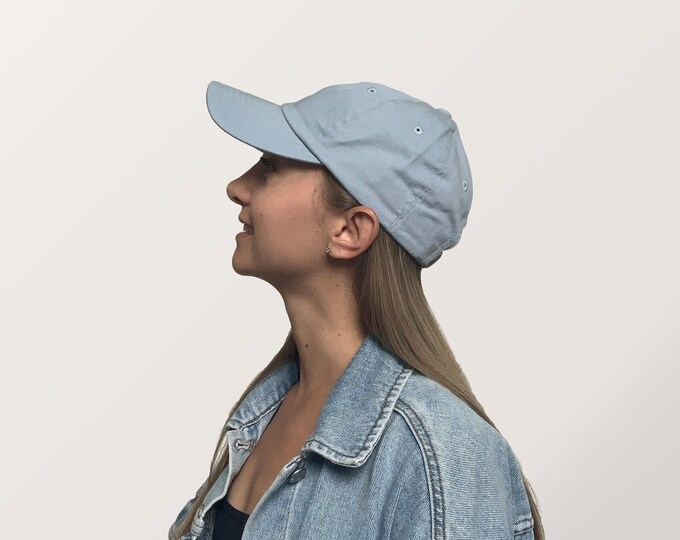 Hat for Small Heads - Women's Petite-fit (Light Blue)