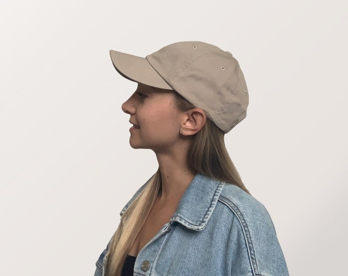 Hat for Small Heads - Women's Petite-fit (Beige)