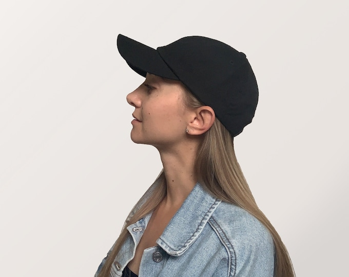 Hat for Small Heads - Women's Petite-fit (Black)