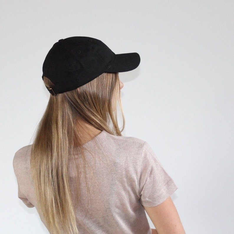 37621bc25ff84 Hat for Small Heads Women s Small-fit Black