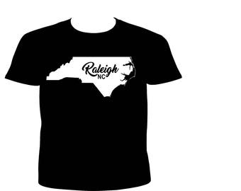 Black and White Raleigh Shirt