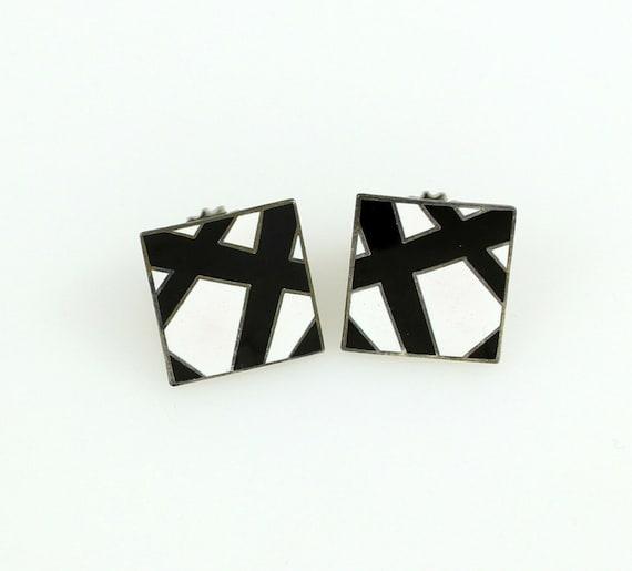 """M.C. Escher  """"1938"""" Earrings by ACME Studio"""