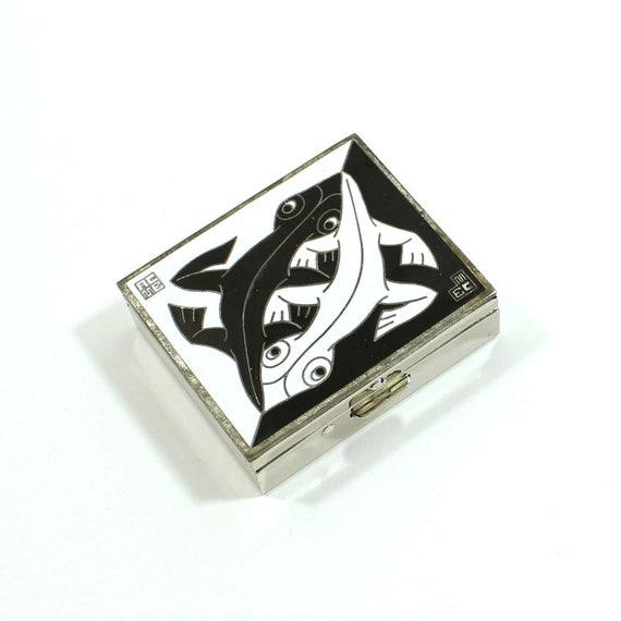 "M.C. Escher  ""1941"" Pill Box by ACME Studio VINTAG"