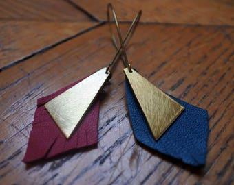 Paita (blue or red) - earrings