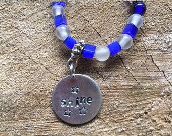 Shine beaded necklace