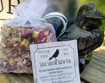 Mother's Day Gifts Spa Soak Herbal Bath Tea Muscle Soak Tub Tea Floral Bath Soak Relaxation Body Soak - Soul Soothe