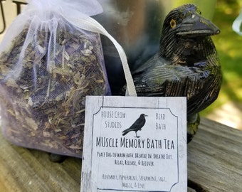 Mother's Day Gifts Spa Soak Herbal Bath Tea Muscle Soak Tub Tea Bath Soak Relaxation Body Soak - Muscle Memory