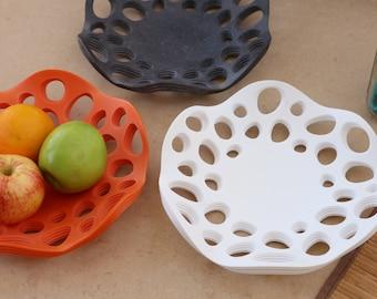 Coral Cradle Decorative Bowl - Large 11 Inch