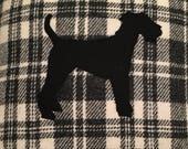 Harris Tweed Dog Cushion...