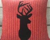 Stag Harris Tweed Cushion...